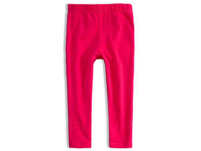 Dievčenské 7/8 legíny KNOT SO BAD BUTTERFLY pink ružové
