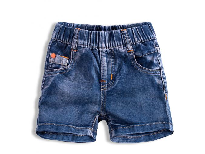 Chlapčenské džínsové šortky KNOT SO BAD TRIP tmavomodré
