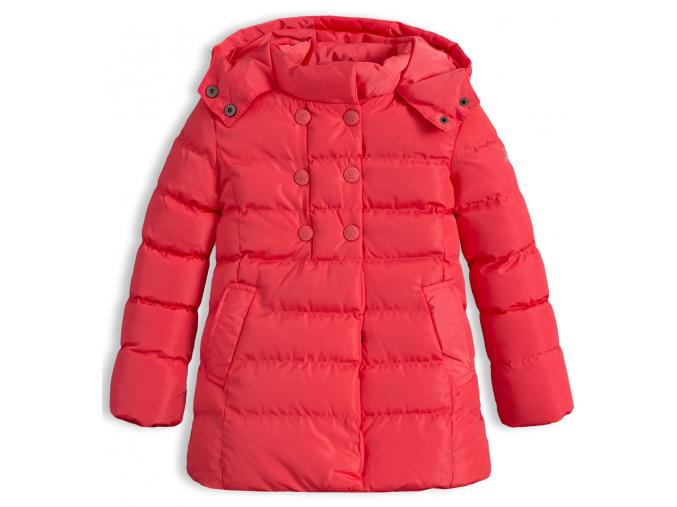 Dievčenská zimná bunda LEMON BERET DUBARRY oranžová