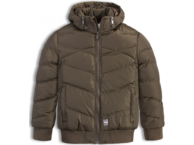 Chlapčenská zimná bunda LEMON BERET ONE WAY khaki