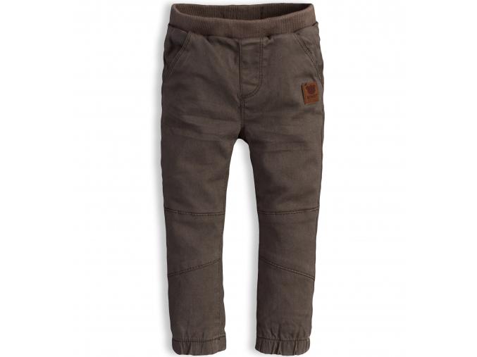 Detské termo nohavice KNOT SO BAD BEAR khaki