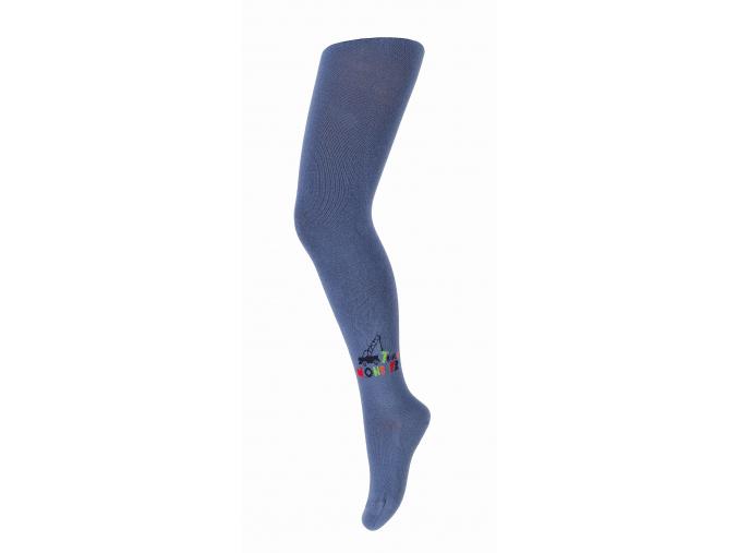 Pančuchy so vzorom pre chlapcov GATTA MONSTER TRUCK modré jeans