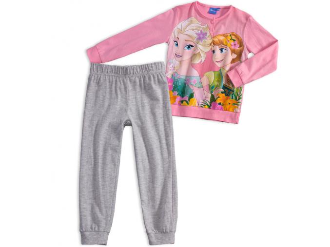 Dievčenské pyžamo ANNA a ELSA ružové quarzo