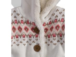 Dievčenský zateplený sveter