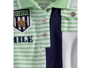 Detské tričko s golierikom SMILE