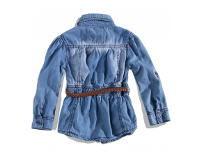 Dievčenská džínsová košeľa