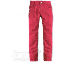 Dievčenské farebné džínsy CARODEL ružové