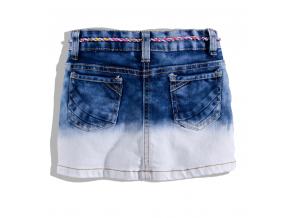 Dievčenská džínsová sukňa