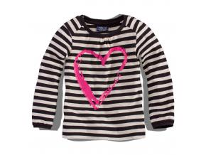 Dievčenské tričko dlhý rukáv, Minoti FUNKY