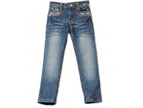 Dievčenské džínsové nohavice