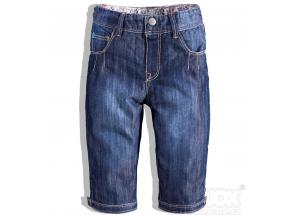 Dievčenské 3/4 nohavice HW JEANS modré