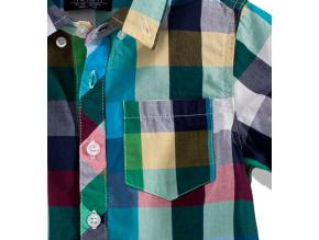Chlapčenská košeľa s krátkym rukávom MOD 3