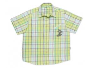 Detská košeľa TUP TUP, krátky rukáv, zelená