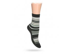 Detské ponožky ABS, vzor PRÚŽKY