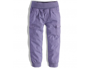 Dievčenské plátenné nohavice DIRKJE