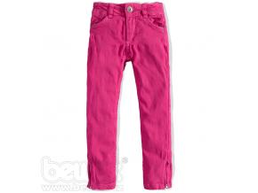 Dievčenské farebné džínsy TEIDEM ružové