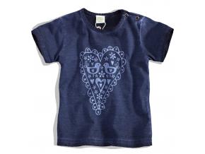 Dojčenské dievčenské tričko SRDIEČKO