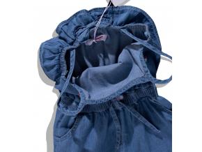 Dievčenský letný džínsový overal Minoti BREEZE