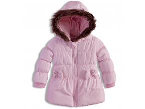 Dojčenská dievčenská zimná bunda BABALUNO