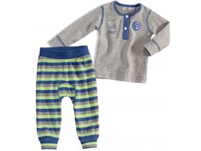 Dojčenská súprava DIRKJE tričko s tepláčikmi zelená