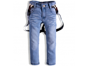 Chlapčenské džínsy s trakmi DIRKJE