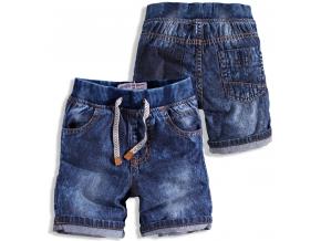 Detské džínsové šortky MINOTI CRAFTED