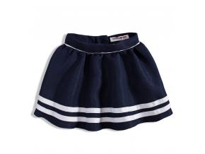 Dievčenská kruhová sukňa MINOTI modrá