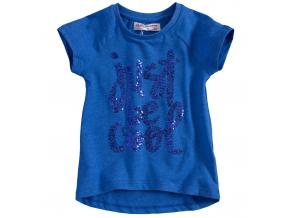 Detské tričko s krátkym rukávom MINOTI VIBE modré