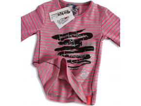 Dievčenské tričko s potlačou DIRKJE RUŽOVÉ