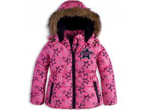 Dievčenská zimná bunda DIRKJE SHINE BRIGHT