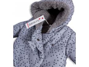 Dojčenská zimná bunda BABALUNO EYELASH