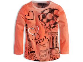 Dojčenské dievčenské tričko DIRKJE MON AMOUR