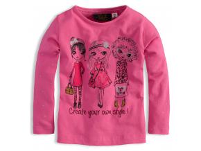 Dievčenské tričko dlhý rukáv KNOT SO BAD GLOSSY