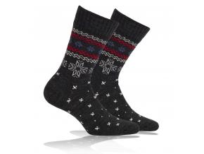 Vlnené ponožky WOLA NÓRSKY VZOR