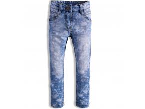 Dievčenské džínsy KNOT SO BAD POTISK