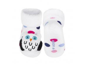 Ponožky s hrkálkou SOXO SOVA