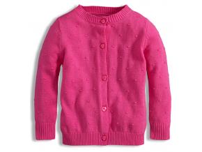 Dievčenský sveter KNOT SO BAD ružový