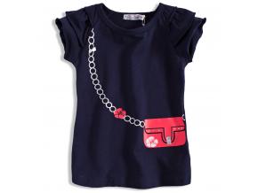 Dievčenské tričko s krátkym rukávom DIRKJE KABELKA
