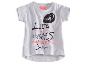 Dievčenské tričko DIRKJE DIRKJE LIFE