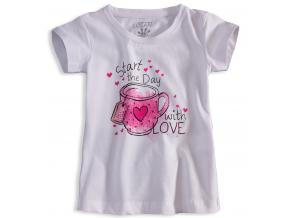Dievčenské tričko s krátkym rukávom LOSAN LOVE