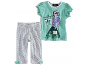 Dievčenské pyžamo KNOT SO BAD DIEVČATKO