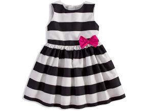 Dievčenské pruhované šaty MINOTI PERFECT