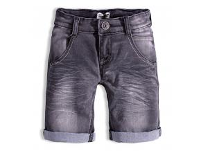 Chlapčenské džínsové šortky DIRKJE čierne