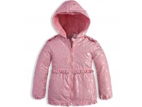 Dojčenská jarná bunda DIRKJE ICE CREAM ružová