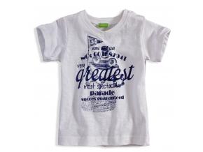 Dojčenské tričko PEBBLESTONE GREATEST biele