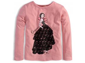 Dievčenské tričko KNOT SO BAD GORGEOUS ružové