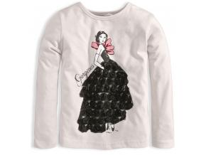 Dievčenské tričko KNOT SO BAD GORGEOUS biele