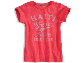 Dievčenské tričko KNOT SO BAD HAITI ružové