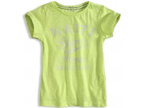 Dievčenské tričko KNOT SO BAD HAITI žlté