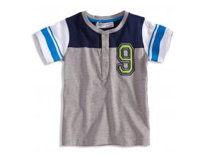 Detské tričko Minoti GREEN šedé